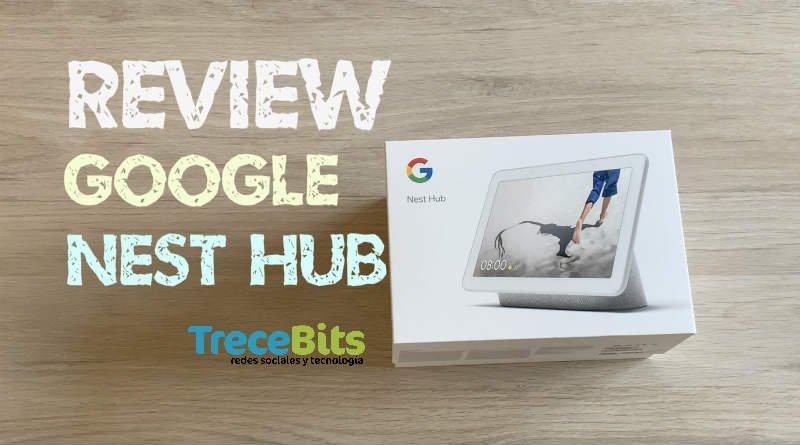 Portada Google Nest Hub TreceBits