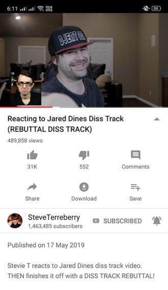 Nuevo botón comentarios Youtube