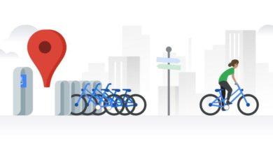 Google Maps ofrece información en tiempo real sobre bicis de alquiler