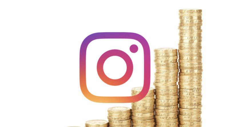 Dinero publicidad Instagram