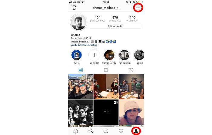 Instagram Chema Molina