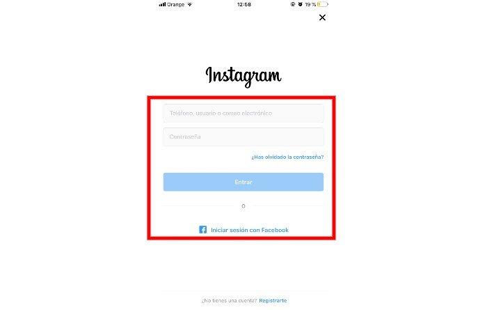 Instagram registro 2