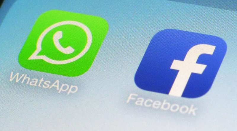 Facebook WhatsApp intercambiar enlaces