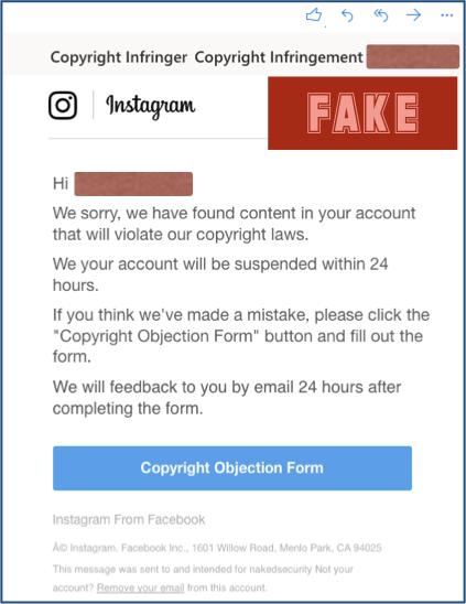 phishing descubierto por sophos