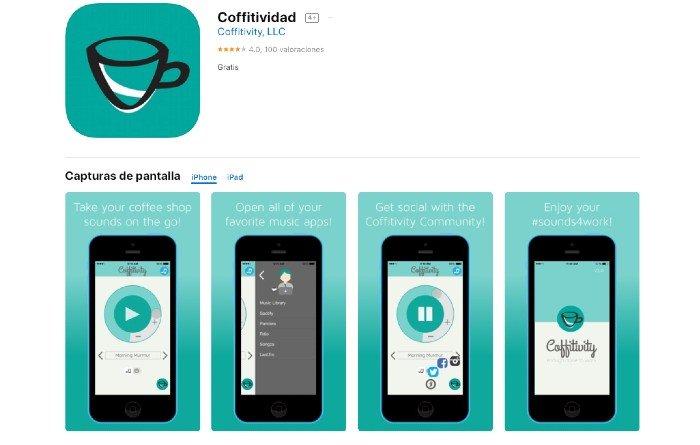 App Coffitividad