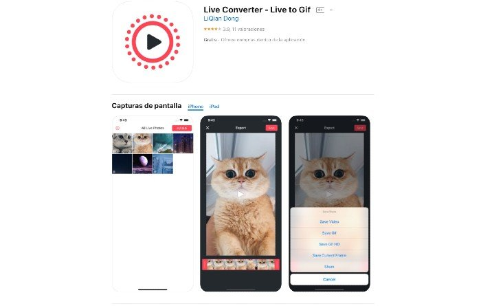 Live Converter Live To Gif Android