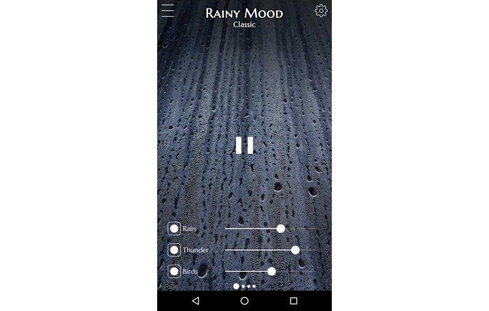 RAINY MOOD PLATAFORMA
