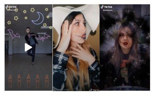 TikTok filtros Halloween