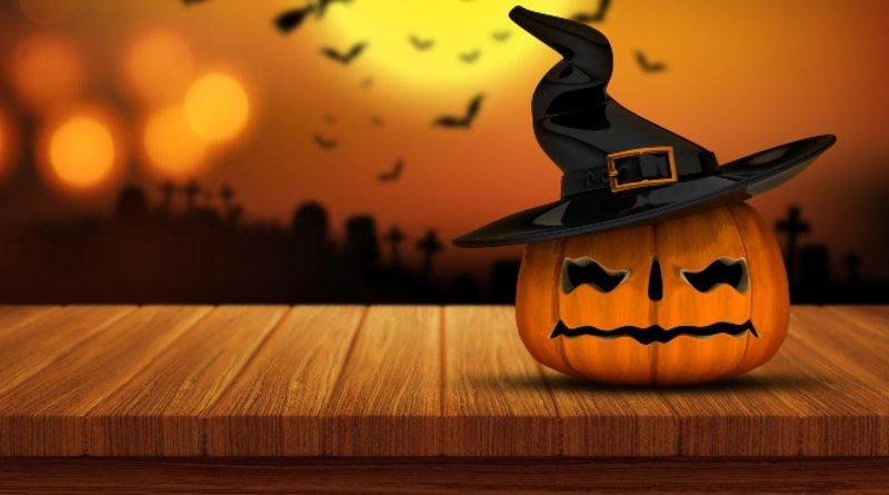 Halloween calabaza sombrero