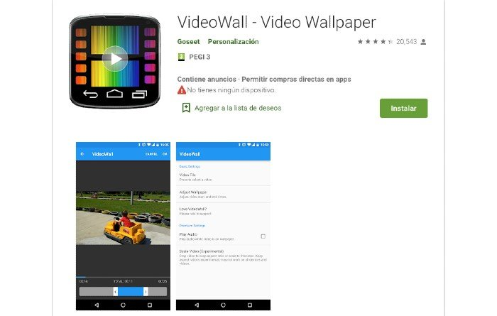 VideoWall android