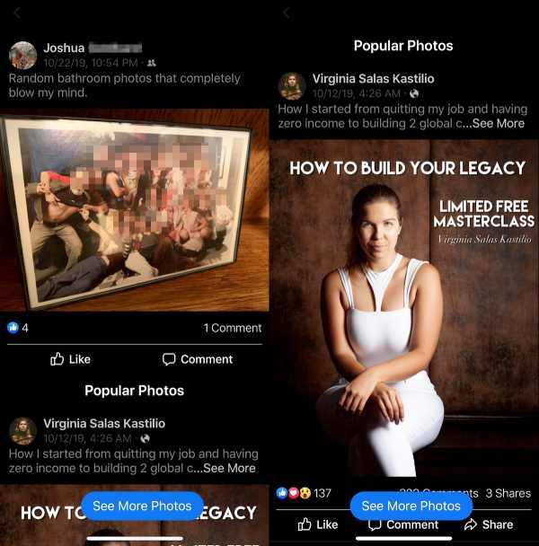 Facebook fotos populares