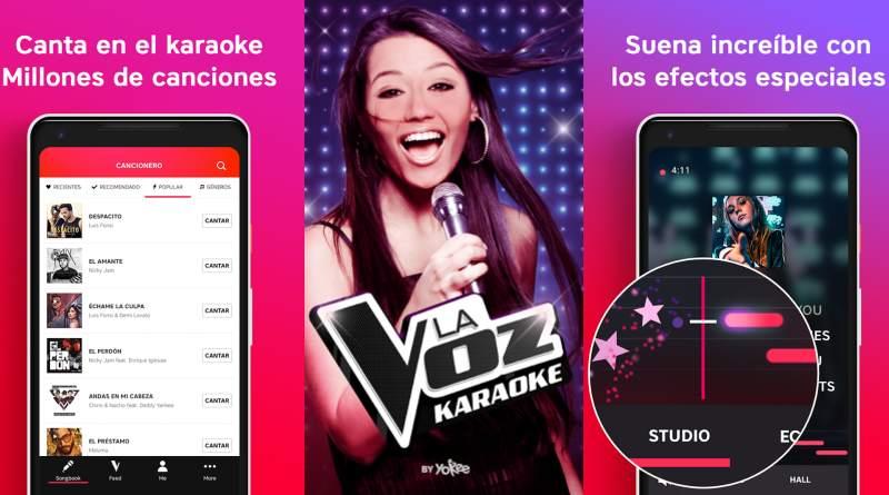 La Voz app