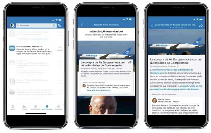 LinkedIn Noticias España