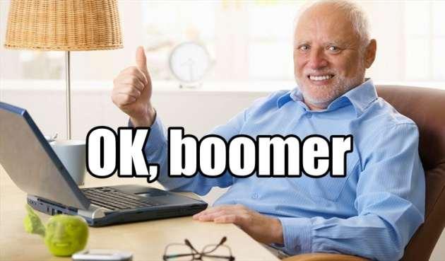 OK Boomer meme y gif
