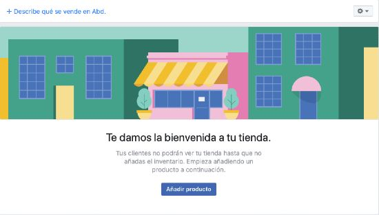 Tienda en Facebook paso a paso