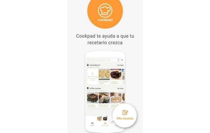 Mejores recetas de comida casera app