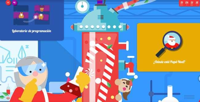 Google Aldea de Navidad