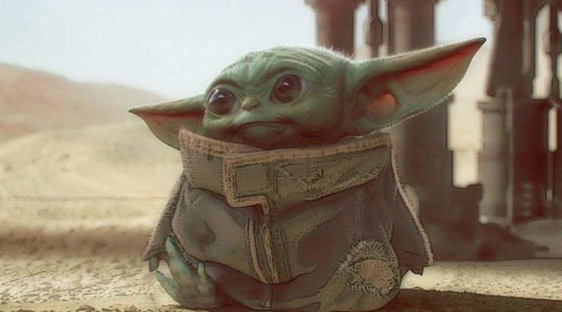 Imagen del pequeño Yoda en el Desierto