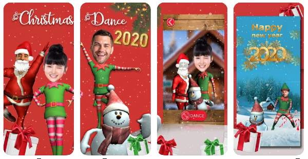 Christmas Dance App