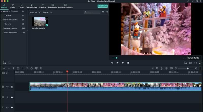 Filmora 9 vídeos de Navidad