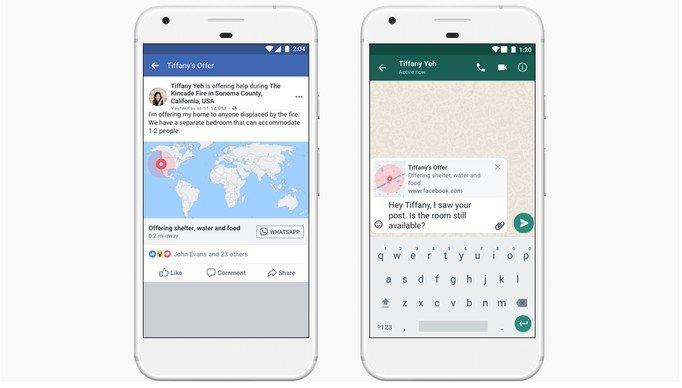 Desastres Facebook y WhatsApp