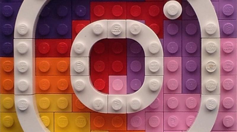 Logo lego instagram