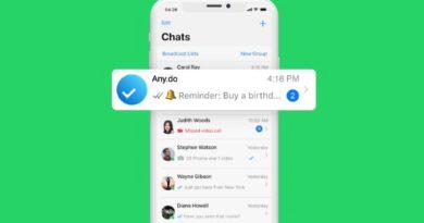 WhatsApp permite crear y recibir recordatorios