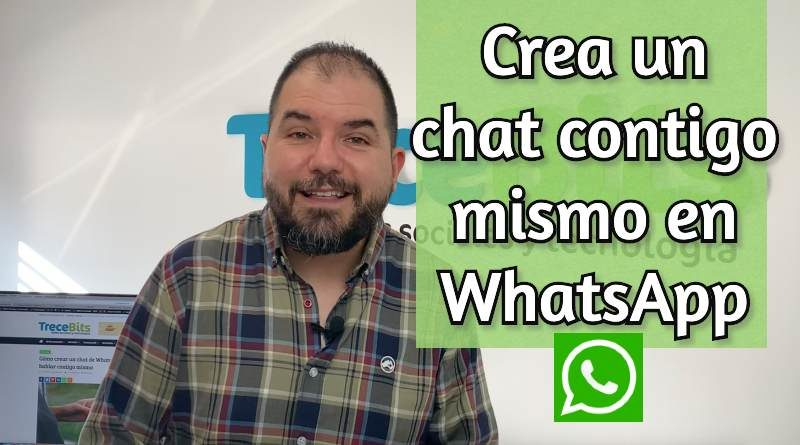 Crea un chat contigo en WhatsApp