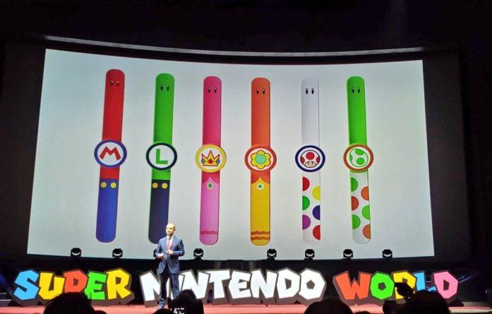 El parque temático de Mario permitirá el uso de pulseras inteligentes