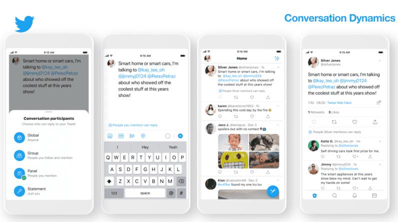 nuevas dinámicas de conversación en Twitter