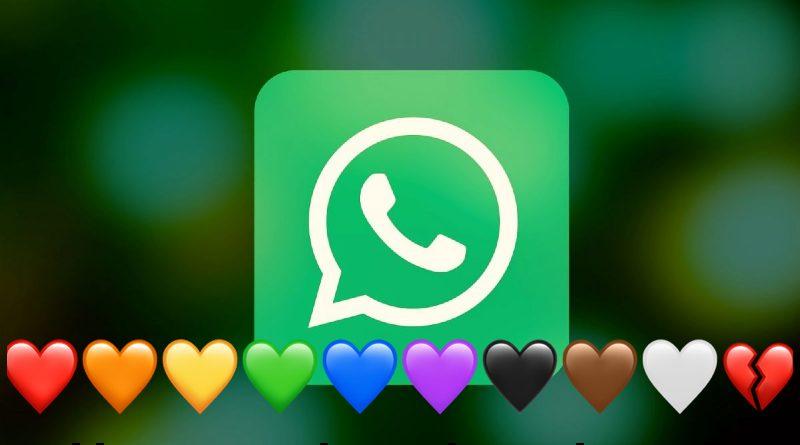 WhatsApp corazón