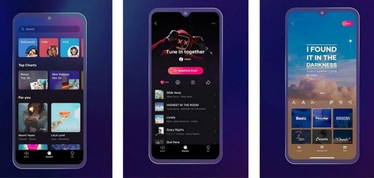 Resso primera aplicación de música del creador de TikTok