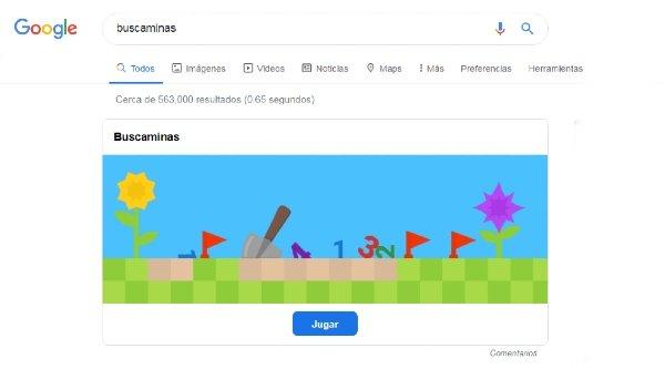 Buscaminas Google