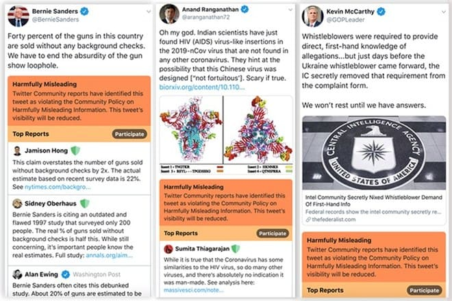 Twitter marcará los tuits fake