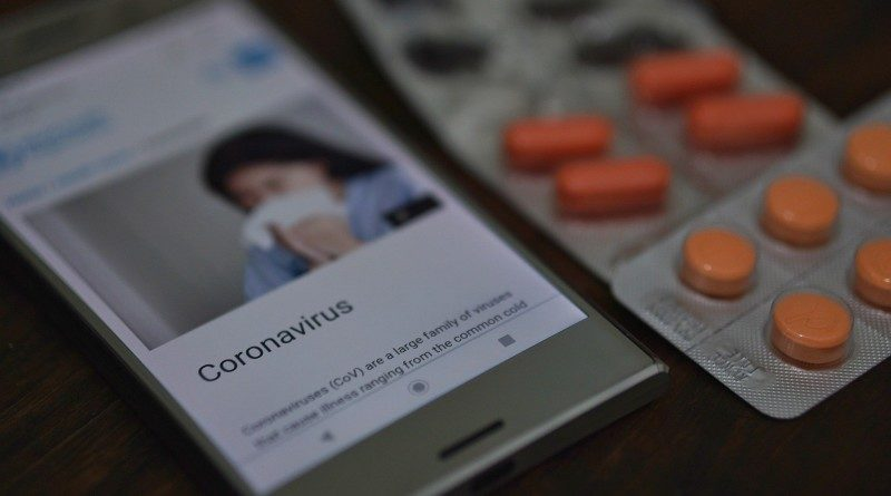 Coronavirus aplicación