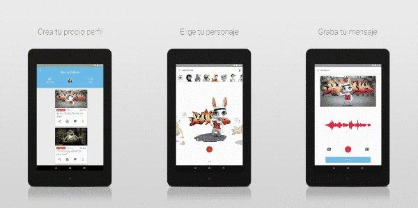 Apps Zoobe mensajes animados