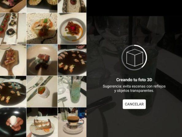 Facebook convierte las imágenes en 2D en 3D