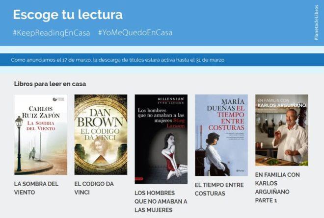 Planeta Libros gratis