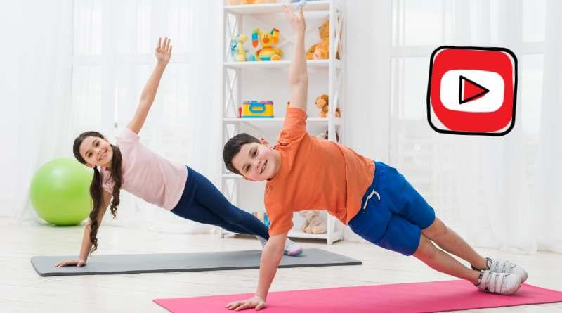 ejercicios de deporte en casa para niños