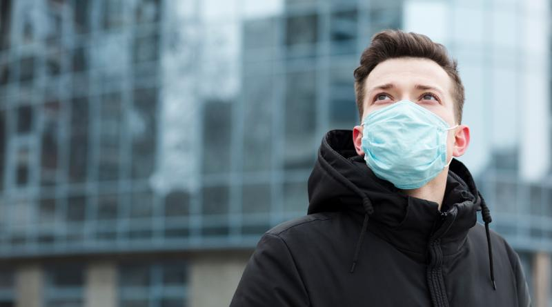 hombre virus pandemia
