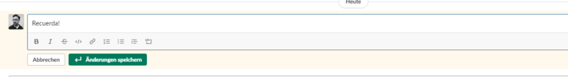 Editar mensajes en Slack