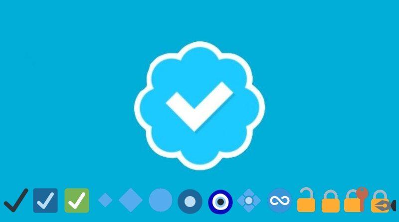 Emojis Twitter Cuenta verificada