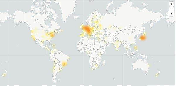 Errores mapa Skype
