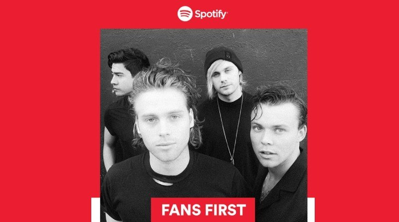 Fans First Spotify