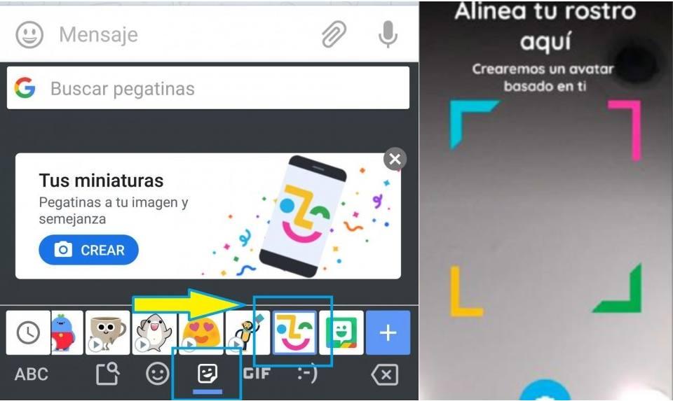 Gboard Memojis Android