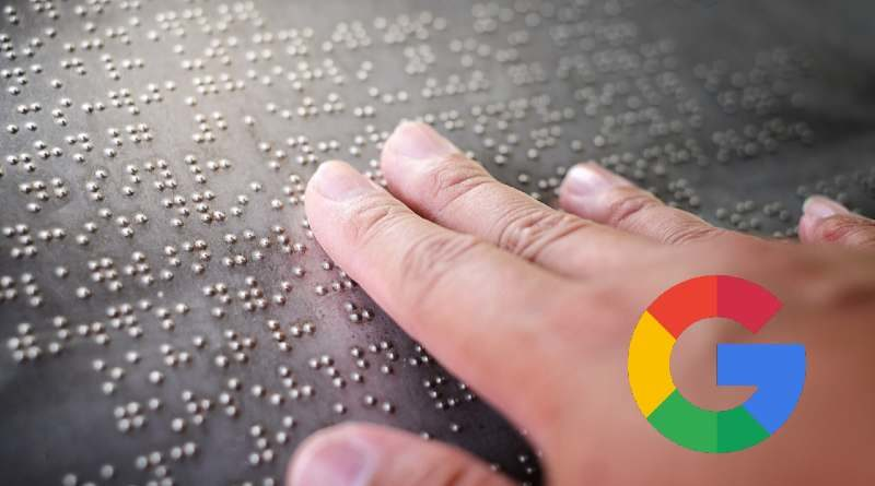 teclado braille google
