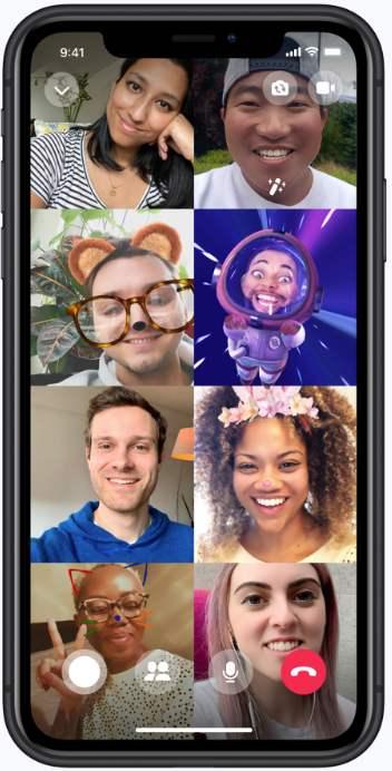 Videollamada en Messenger