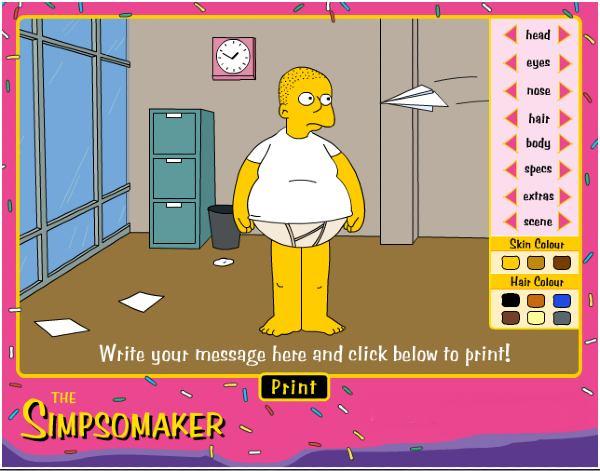 The Simpsomaker