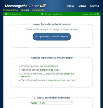 Mecanografiaonline.com