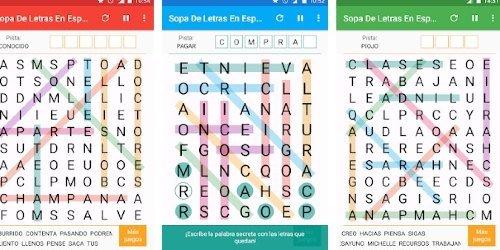 juego sopa de letras